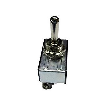 Toggle switch 250 Vac 10 A 1 x On/Off/On SCI R13-28D-06 latch/0/latch 1 pc(s)