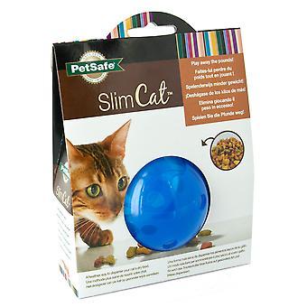 Petsafe Slimcat behandle bolden blå