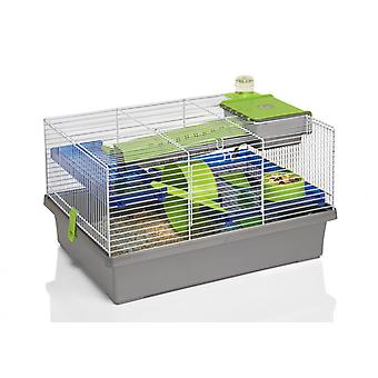 Options Small Animal Pico Hamster Cage Silver (Pack of 2)