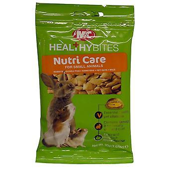 M & c små dyr behandling-ums Nutri-pleje 30g (pakke med 12)
