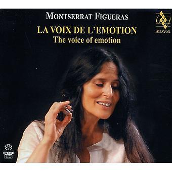 Montserrat Figueras - La Voix De L'Emotion [SACD] USA importerer