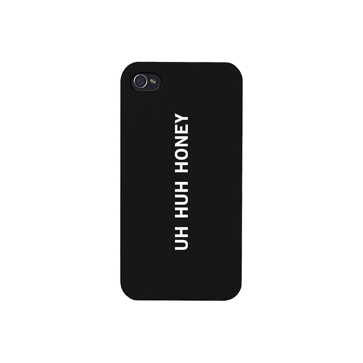 Uh Huh Honey Black Phone Case