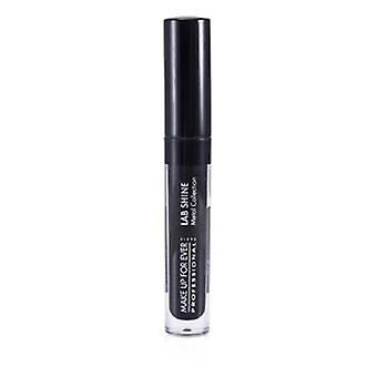 Make Up For Ever Lab glans Metal samling Chrome Lip Gloss - #M0 (Onyx) (Unboxed) - 2.6g/0.09oz