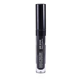 Make Up For Ever Lab Shine Metal Collection Chrome Lip Gloss - #M0 (Onyx) (Unboxed) - 2.6g/0.09oz
