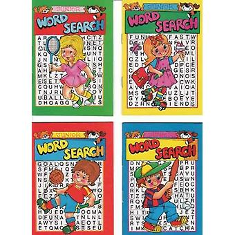 Junior Word Search Book- Value Pack of 8