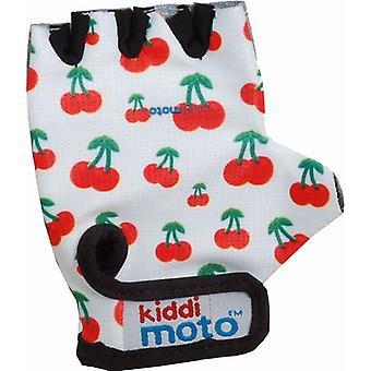 Kiddimoto Cycling Gloves Cherry