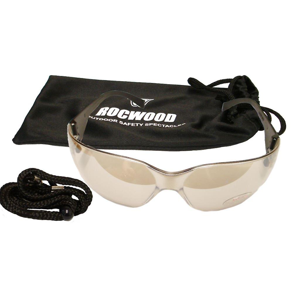 SAFETY GLASSES ROCWOOD- CLEAR