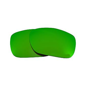 New SEEK Polarized Replacement Lenses for Oakley TWOFACE Green Mirror