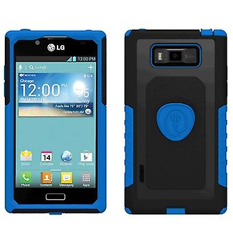 Trident Aegis Case for LG Splendor AS730/US730 (Blue/Black) - AG-LG-SPLDR-BLU