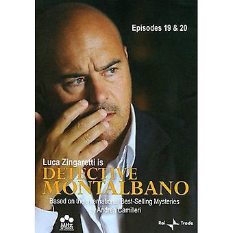 Detektiv Montalbano: Afsnit 19 og 20 [DVD] USA importerer
