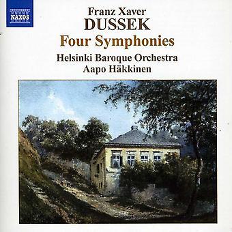 F.X. Dussek - Franz Xaver Dussek: Quatre Symphonies [CD] USA import