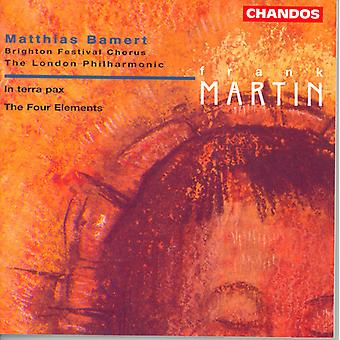 F. Martin - Frank Martin: In Terra Pax; the Four Elements [CD] USA import