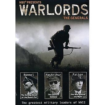 Señores de la guerra: Los generales [DVD] USA importar