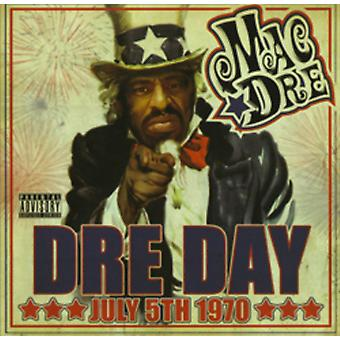 Mac Dre - Dre Day juli 5 1970 [CD] USA importerer