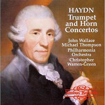 J. Haydn - Haydn: Trumpet and Horn Concertos [CD] USA import