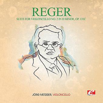 Reger - Suite für Violoncello 2 in D Min 131C [CD] USA importieren