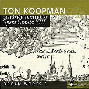 Ton Koopman - Buxtehude: Opera Omnia VIII [CD] USA import