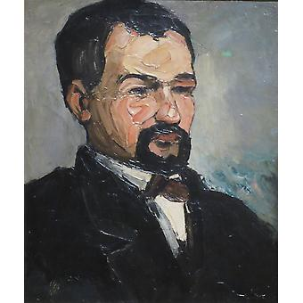 Paul Cezanne - Uncle Dominique Poster Print Giclee