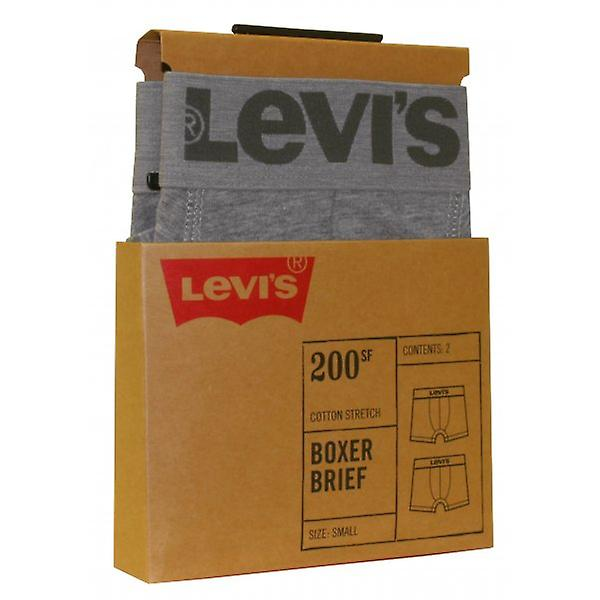 Levi's 2-Pack 200sf Boxer Briefs, Grey Melange