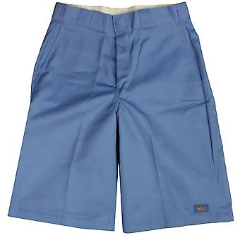 Dickies Men's 13 Inch Loose Fit Multi-Pocket Work Short Light Blue