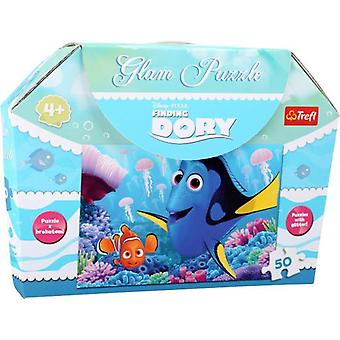 Legler Puzzle With Purpurina Finding Dory 50 Pieces (Spielzeuge , Brettspiele , Puzzles)