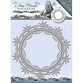 Find It Trading Amy Design Wintertide Die-Ice Crystal Frame ADD10079