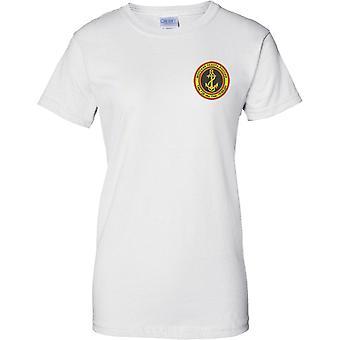 Rosyjska piechota morska - ilustracja insygnia - Panie piersi Design T-Shirt