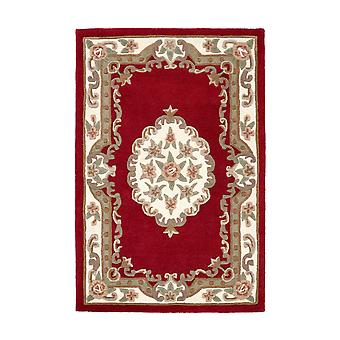Shensi Traditioinal wol tapijten In wijn