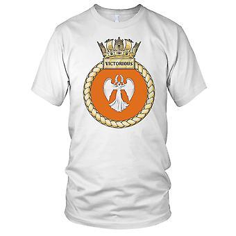 Royal Navy HMS Victorious Ladies T Shirt