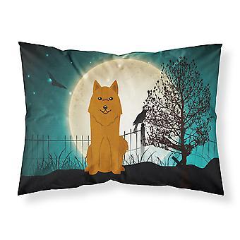 Halloween gruselig karelischer Bär Hund Stoff Standard Kissenbezug
