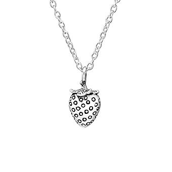 Strawberry - 925 Sterling Silver Necklaces - W32231X