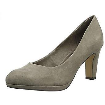 Tamaris vrouwen platform pumps hakken schoenen kasjmier grijs