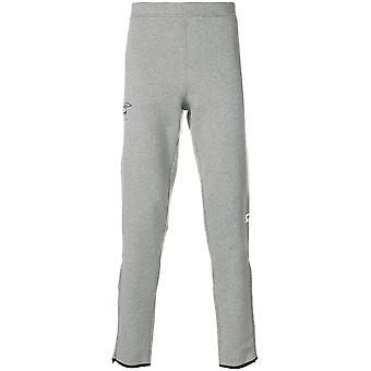 Kenzo men's F765PA7294OB95 grey cotton joggers