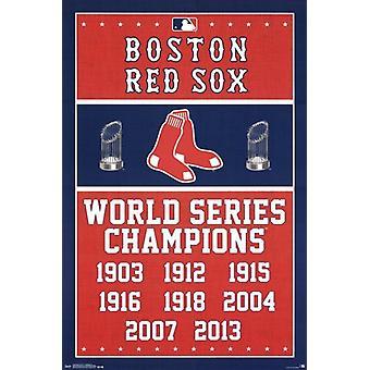 Boston Red Sox - Champions 2014 Poster Print