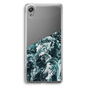Sony Xperia XA1 Transparent Case - Ocean Wave