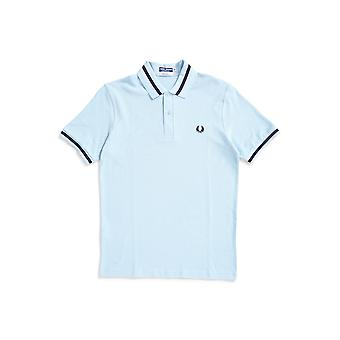 Fred Perry M2 Single Tipped Polo Shirt Blue