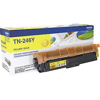 Toner cartridge Original Brother TN-246Y Yellow Page yield 2200 pages