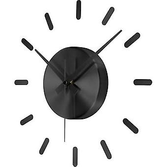 Renkforce HD-WRC152 DCF SW Radio Wall clock 350 mm Black