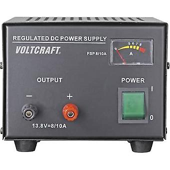 Bench PSU (fixed voltage) VOLTCRAFT FSP-1138 13.8 Vdc 8 A 110 W No. of outputs 1 x