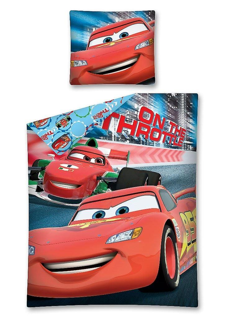 Coches bedset - 140 x 200 cm