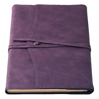 Coles Pen Company Amalfi Large Lined Refillable Journal - Aubergine Purple
