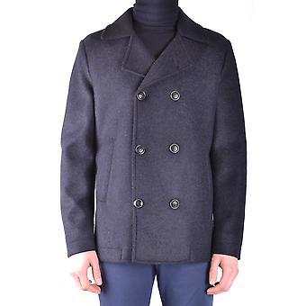 Massimo Rebecchi men's MCBI203019O black polyester coat