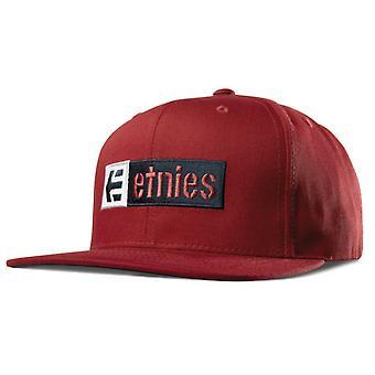 ETNIES Corp scatola Mix i cappelli - rosso