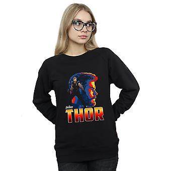 Infini guerre Thor Character Sweatshirt Vengeurs féminines