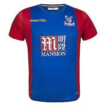 2016-2017 Crystal Palace Macron Home Football Shirt