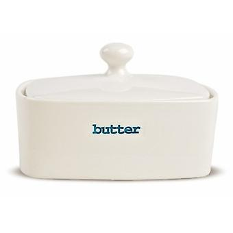 Keith Brymer Jones Word Range Butter Dish