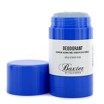 Baxter Californien deodorant - alkohol fri (følsom hud formel) - 75g / 2,65 oz