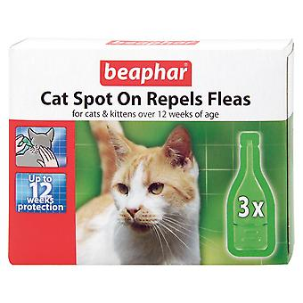 BEAPHAR CAT KITTENS SPOT ON TREATMENT REPELS FLEAS 12 WEEKS PROTECTION