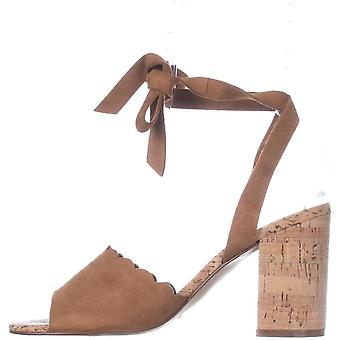 Marc Fisher Womens Piya Suede Open Toe Casual Slide Sandals