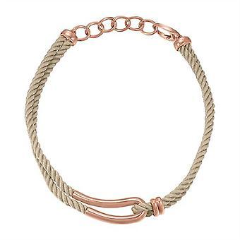 Silueta de rosado de Joop mujer cadena collar de acero inoxidable JPNL10593D420